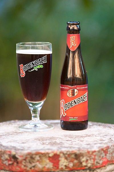 Bière Rodenbach, lors du week-end gastronomie d'août 2012.