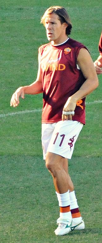 Rodrigo Taddei - Taddei training with Roma in 2012