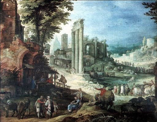 Roemische Ruinenlandschaft Paul Bril
