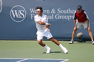 2011 Western & Southern Open - In 2011, Roger Federer failed to defend the men's singles title he won in 2010