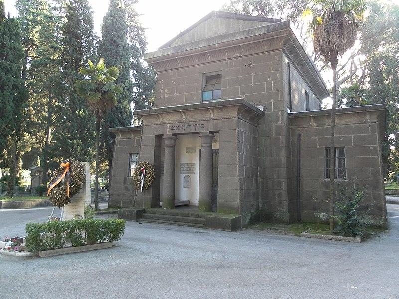 Roma cimitero Verano tempio israelita.jpg