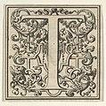Roman Alphabet letter T with Louis XIV decoration MET DP855584.jpg