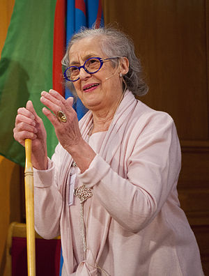 Rosa Taikon - Taikon at the Romska jubileumskonferensen (Roma Jubilee Conference) in March 2012