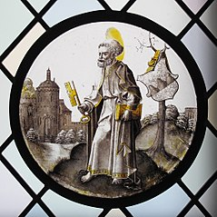Roundel with Saint Peter