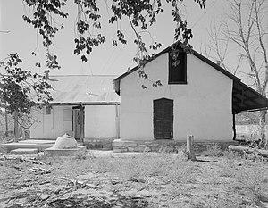 Comanche National Grassland - Rourke Ranch Historic District, located on the Comanche National Grassland near La Junta