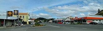 Roxburgh, New Zealand - The main street of Roxburgh