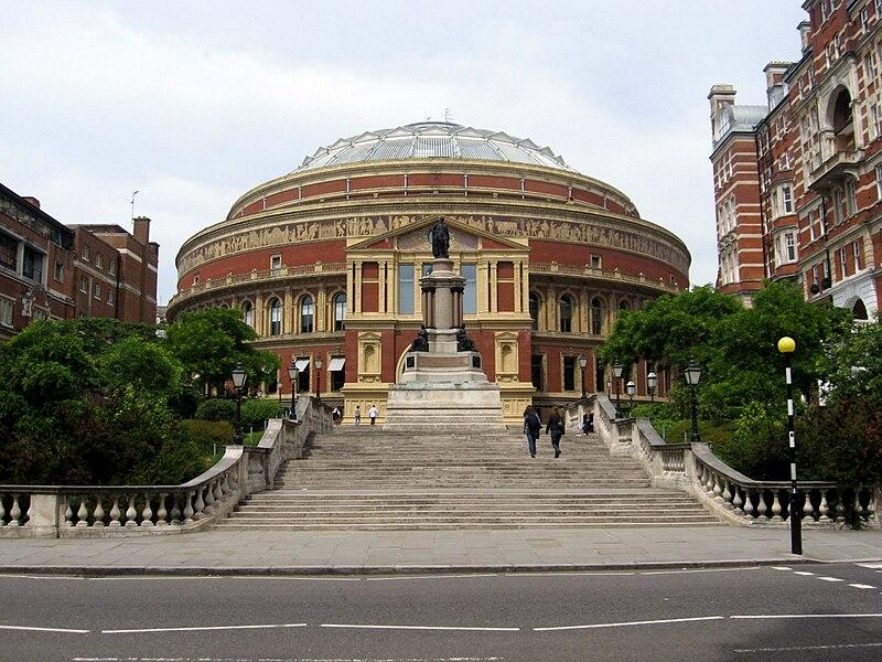 File:Royal Albert Hall, London, from Prince Consort Road.jpg