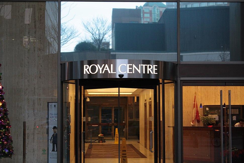 Royal Centre Vancouver BC