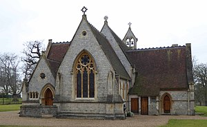 Royal Chapel of All Saints - Image: Royal Chapel of All Saints, Windsor Great Park