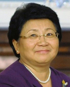 President of Kyrgyzstan - Image: Roza Otunbayeva 2011 03 08