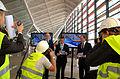 """Rozpoczęcie kampanii Polska w budowie"""" na Pomorzu w nowym terminalu na lotnisku Gdańsk - Rębiechowo (6034695401).jpg"""