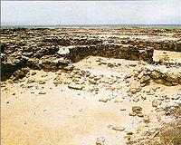 Ruinas de la antigua Nueva Cádiz.