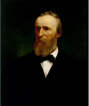 Eliphalet Frazer Andrews - Rutherford B. Hayes portrait by Eliphalet Frazer Andrews, 1881