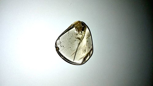 Rutilated Quartz Specimen 3 - standard clear black rutile inclusion.jpg