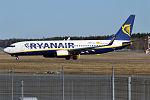 Ryanair, EI-ENA, Boeing 737-8AS (25638471764).jpg