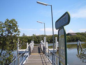 Rydalmere, New South Wales - Rydalmere Ferry Wharf
