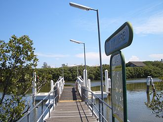 Rydalmere, New South Wales - Rydalmere Ferry Wharf