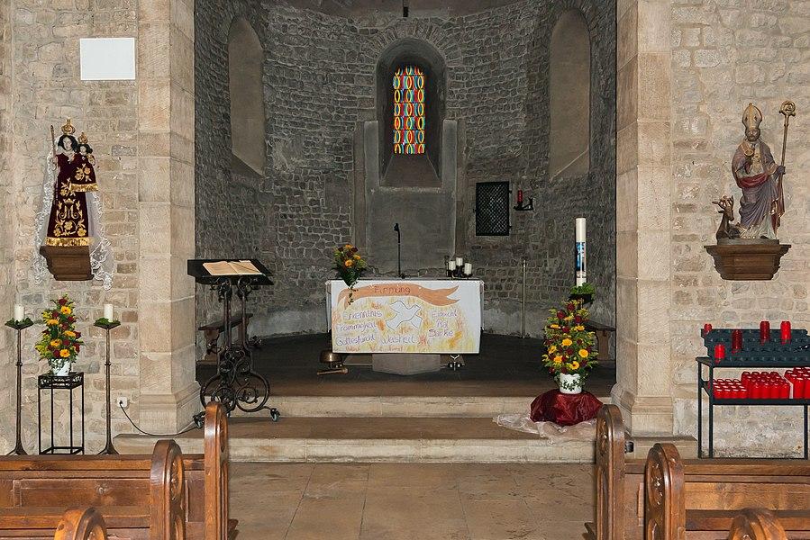 De Chouer an der Kierch zu Sëll.