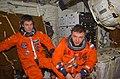 S102E5457 - STS-102 - STS-102 crewmembers in the middeck wearing LESs during landing prep - DPLA - b17bfbf679969000182170ebcba33221.jpg