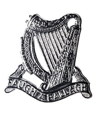 South African Irish Regiment - Image: SA Irish Cap Badge 1964 to Present