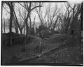 SITE OVERVIEW, LOOKING NORTH - Shepherdstown Cement Mill, River Road, Shepherdstown, Jefferson County, WV HAER WVA,19-SHEP.V,4-16.tif