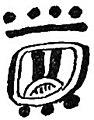 SMT D211 Maya numeral representing a calendar month 2.jpg