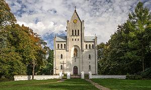 Grabowno Wielkie - Image: SM Grabowno Wielkie kościół Matki Boskiej Częstochowskiej (1) ID 596474