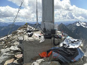 Summits on the Air - Activation of Roter Knopf on Shortwave, VHF and UHF