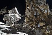 STS-129 EVA2 Michael Foreman 3