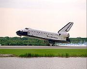 STS84 Atlantis Landing