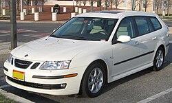 2006-2007 Saab 9-3 2.0T SportCombi (US)