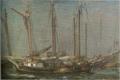 SaekiYūzō-1926-Ship at Anchor-2.png