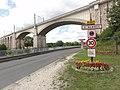Saint-Mammès (Seine-et-Marne) city limit sign.jpg