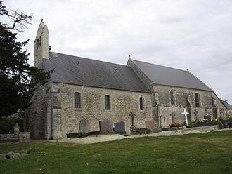 Saint-Vigor-le-Grand - The church in Saint-Vigor-le-Grand