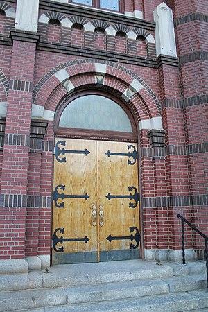 Saint Benedict Joseph Labre Church (Queens) - Image: Saint Benedict Joseph Labre Church (Queens, New York) 2