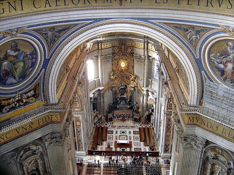 File:Saint Peters Basilica Interior21.jpg