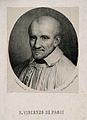 Saint Vincent de Paul. Lithograph by A. Guardassoni. Wellcome V0006048.jpg