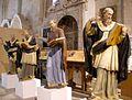 Salamanca - Catedral Vieja, claustro, Capilla de Santa Catalina, Padres de la Iglesia de Oriente.jpg