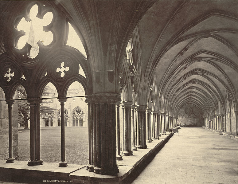 File:Salisbury Cathedral Cloisters (3610704645).jpg