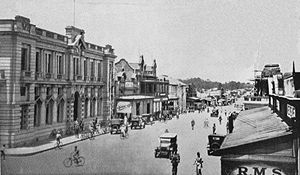 Alfred and Emily - 1930, town centre of former Salisbury, today Harare, Zimbabwe
