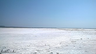 Lemnos - Salt lake of Lemnos