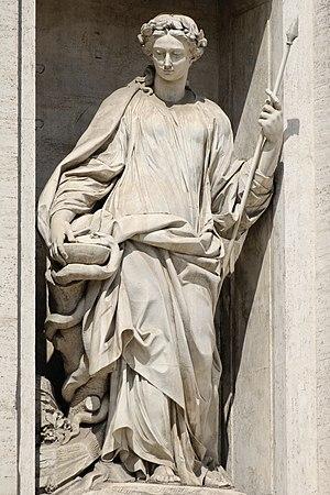 Filippo della Valle - Image: Salubrity fontana di Trevi Roma