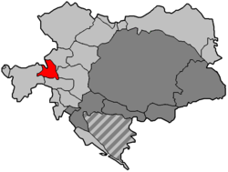 The Duchy of Salzburg within Austria-Hungary