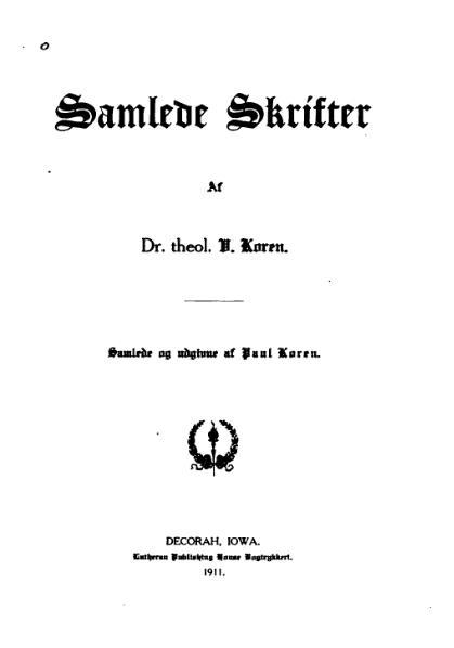 File:Samlede skrifter V Koren.djvu