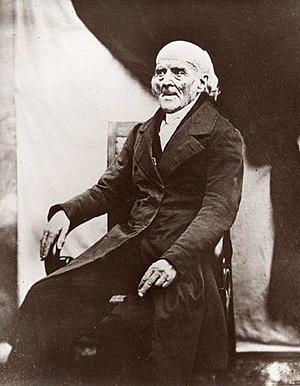 Samuel Hahnemann - A daguerrotype of Samuel Hahnemann in 1841