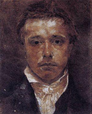 Samuel Palmer - Self portrait, circa 1826