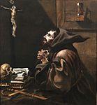 San Francisco en oración, de Blas Muñoz (Museo del Prado).jpg