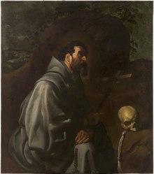 San Francisco en oración (Diego de Velázquez) 1632