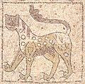 San Giovanni Evangelista in Ravenna, lion.jpg