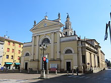 La collegiata edificata per volontà di Pier Maria Rossi II
